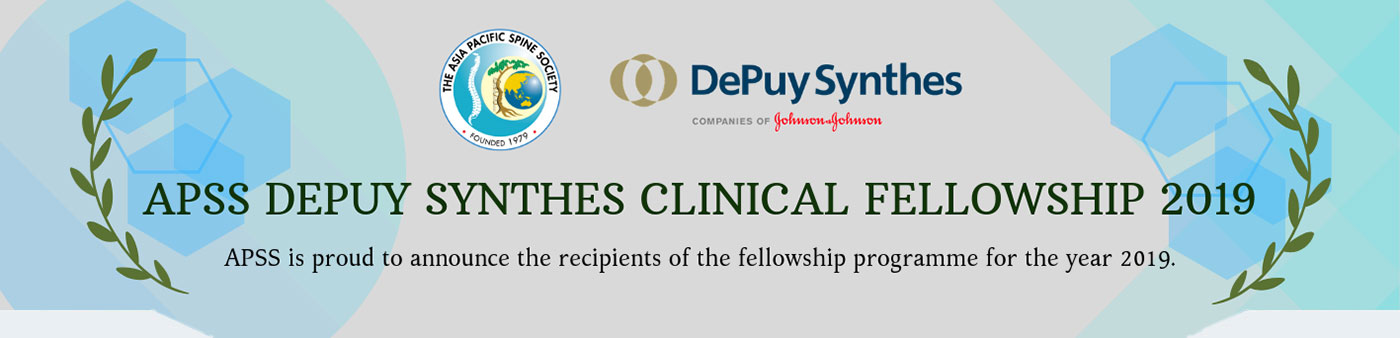 APSS DePuy Synthes Clinical Fellowship 2019