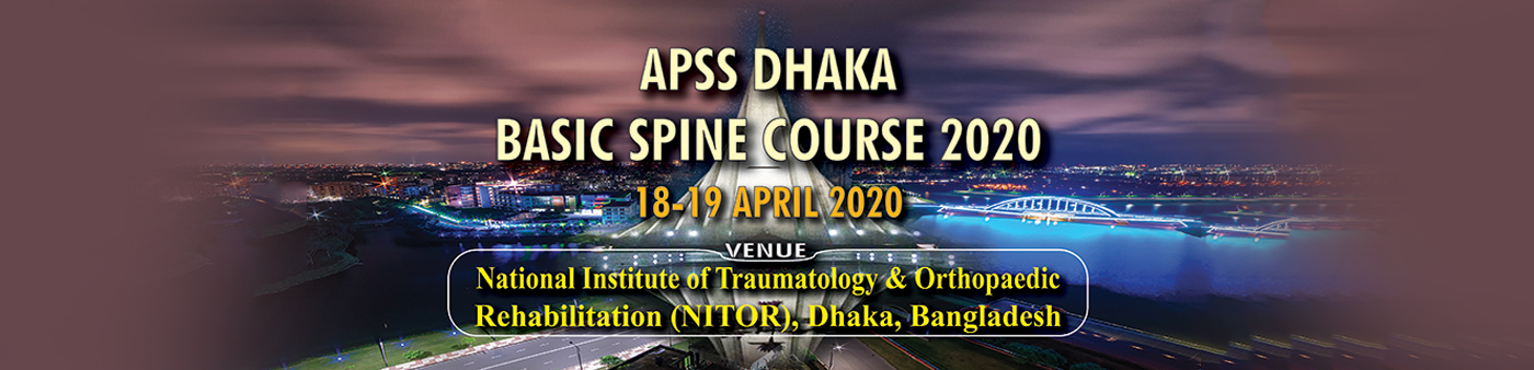 APSS Dhaka Basic Spine Course 2020
