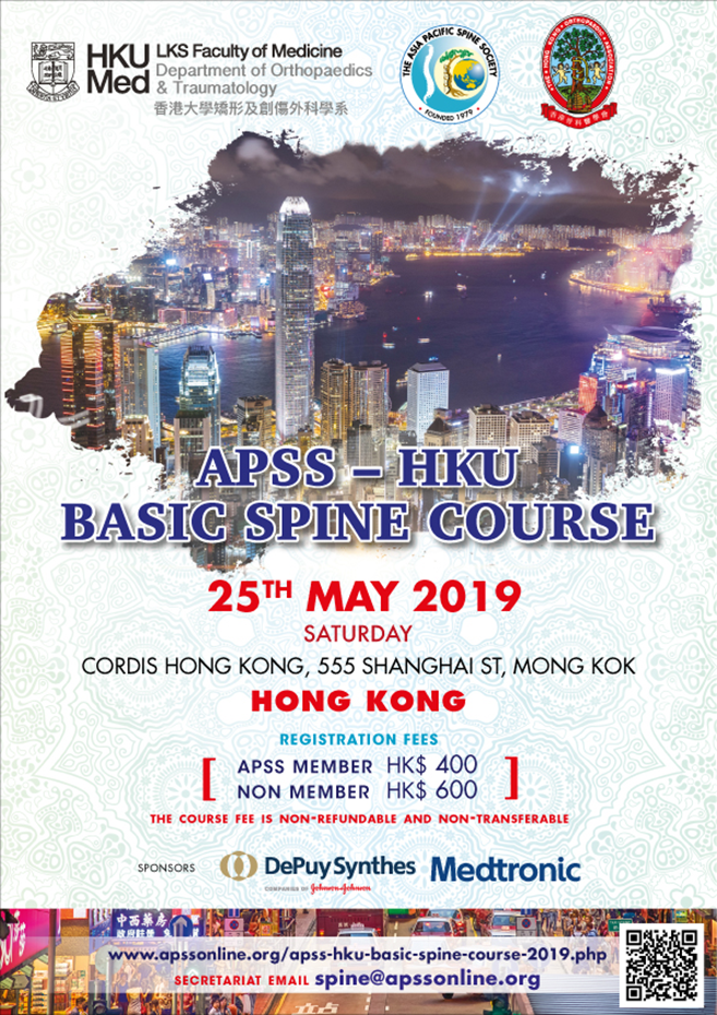 APSS-HKU Basic Spine Course 2019
