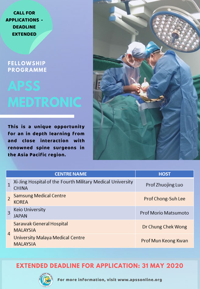 APSS Medtronic Fellowship 2020