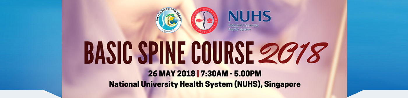 Basic Spine Course 2018 - NUHS